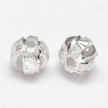 Silver Round Sterling Silver Beads