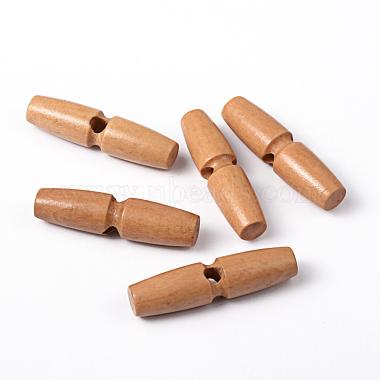 49mm Beige Wood Button