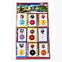 Mixed Color Cloth Cloth Patches(AJEW-T005-03)