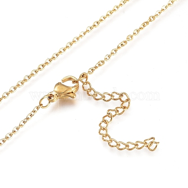 Brass Micro Pave Clear Cubic Zirconia Pendant Necklaces(X-NJEW-L146-28A-G)-4
