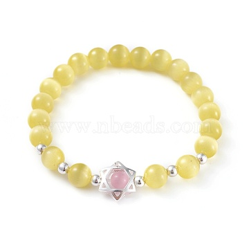 Yellow Cat Eye Bracelets