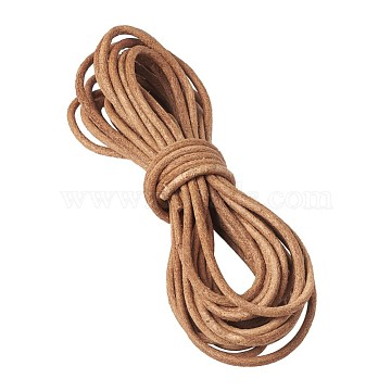 3mm Chocolate Cowhide Thread & Cord