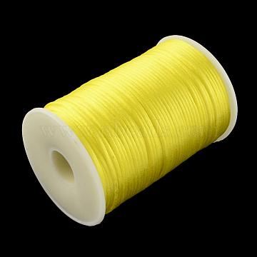 2mm Yellow Polyacrylonitrile Fiber Thread & Cord
