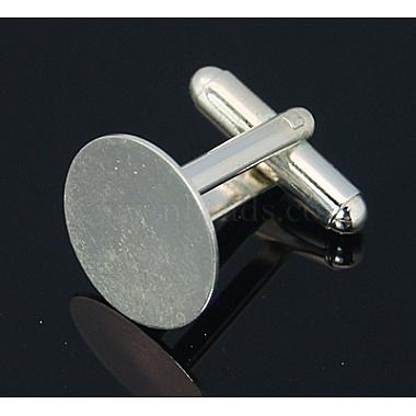 Brass Cuff Button(X-KK-E064-S)-3
