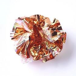 пвх кольцо бумажный шарик, оранжевый, 63~66 mm(MP-TAC0002-02C)