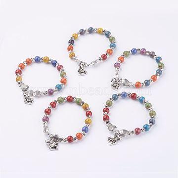 Colorful Porcelain Bracelets