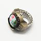 Iron Stretch Ring Quartz Watches(RJEW-R119-03)-2