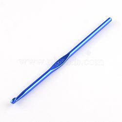 Crochets aléatoires en aluminium de couleur simple, une seule couleur par sac, broche: 4.5 mm; 148x4.5 mm(X-TOOL-R058-06)