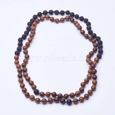 Peru Wood Necklaces