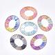 Handmade Raffia Woven Linging Rings(WOVE-S120-01)-1