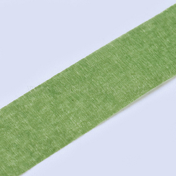 Crepe Paper, For Paper Flower Wrapping, DIY Party Decoration, Dark Sea Green, 12mm, about 30yards/roll(DIY-WH0143-97E)