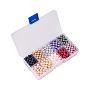 6mm Couleur Mixte Rond Verre Perles(HY-YW0001-01C)