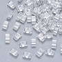 Clear Rectangle Glass Beads(SEED-S031-M-001)