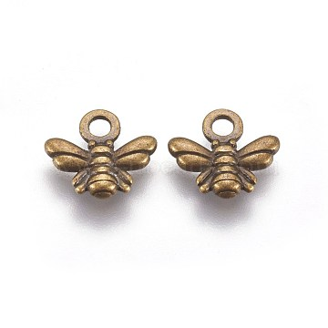 Antique Bronze Bees Alloy Charms