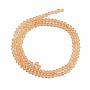 Peru Rondelle Glass Beads(EGLA-A034-T10mm-D23)