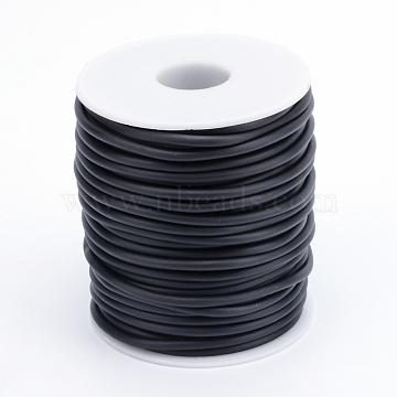 2mm Black Rubber Thread & Cord