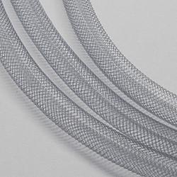 Filet en plastique, gris clair, 4mm, 50 yards / paquet (150 pieds / paquet)(PNT-Q003-4mm-27)