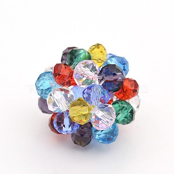 14mm Colorful Round Glass Beads