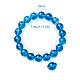 SUNNYCLUE Natural Crackle Quartz Round Beads Stretch Bracelets(BJEW-PH0001-10mm-15)-3