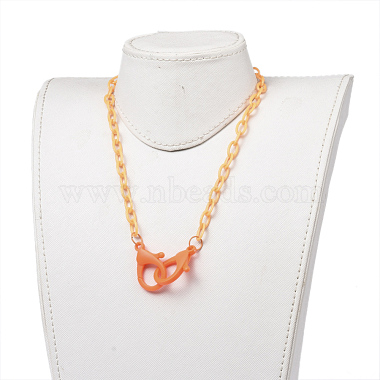Personalized ABS Plastic Cable Chain Necklaces(NJEW-JN03310-01)-4