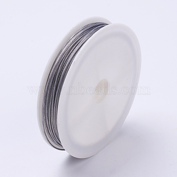 Pack of 10 colours Tiger Tail Thread Beading Wire 0.38mm 10m Roll for jewellery