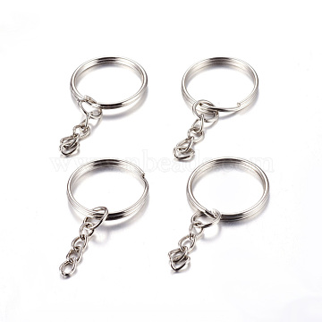 Platinum Ring Iron Clasps