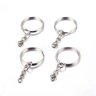 Platinum Ring Iron Clasps