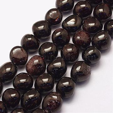 16mm Nuggets Garnet Beads
