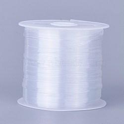 0.6мм белый тон бисером нейлон проволоки проволоки леска, Размер : диаметром около 0.6 мм , 20 м / рулон(X-NWIR-R0.6MM)