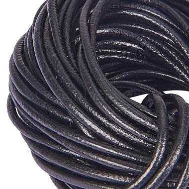 Round Leather Necklace Cords for Bracelet Neckacle Beading Jewelry Making(X-WL-A002-18)-2