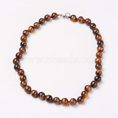 BurlyWood Tiger Eye Necklaces