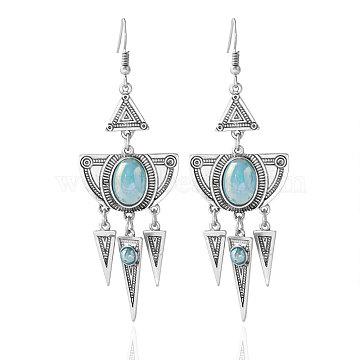 LightBlue Acrylic Earrings