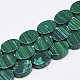 Synthetic Malachite Beads Strands(G-T122-04R)-1