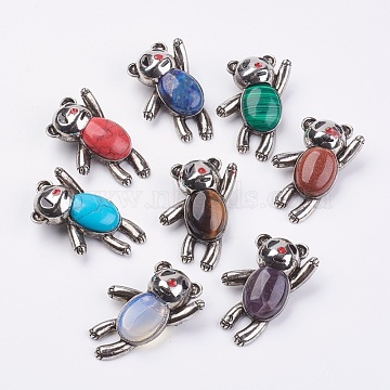 Mixed Material Safety Brooch