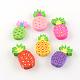 Handmade Pineapple Polymer Clay Cabochons(X-CLAY-R060-72B)-1