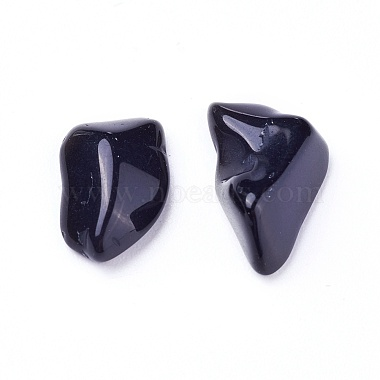 Natural Obsidian Beads(G-I221-34)-2