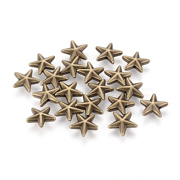 13mm Star Beads