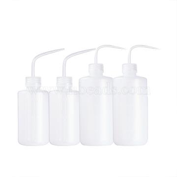 White Plastic Empty Bottle