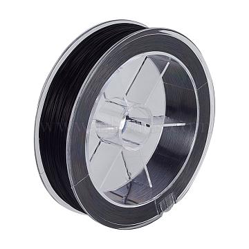 0.8mm Black Elastic Fibre Thread & Cord