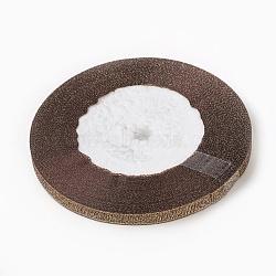 """1/4"""" (6mm) ruban métallique pailleté pérou, Ruban scintillant, Saint Valentin cadeaux boîtes paquets ruban, environ 25yards / rouleau (22.86m / rouleau)(X-RSC6mmY-003)"""