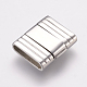 304 Stainless Steel Fold Over Clasps(STAS-E144-118P)-1