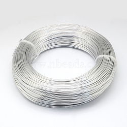 Fil d'aluminium, argent, 3.0 mm; 25 m / 500 g(AW-S001-3.0mm-01)