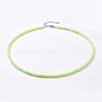 Green Glass Necklaces