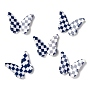 Blue Butterfly Resin Cabochons(RESI-I035-01A)