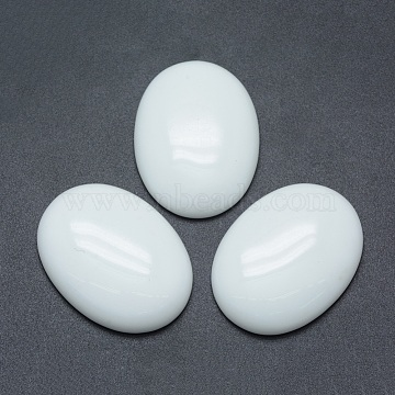 40mm Oval Porcelain Cabochons