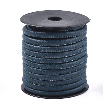 6mm MediumBlue Imitation Leather Thread & Cord