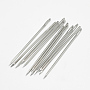 Iron Canvas Leather Sewing Stitching Needles, Platinum, 70x1.83mm, Hole: 1x7mm