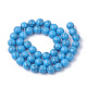 Synthetic Turquoise Beads Strands(G-S295-11B-8mm)-2