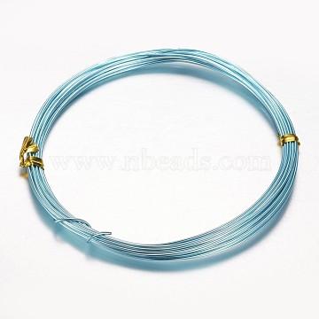 1mm Aqua Aluminum Wire
