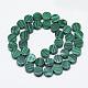 Synthetic Malachite Beads Strands(G-T122-03U)-2